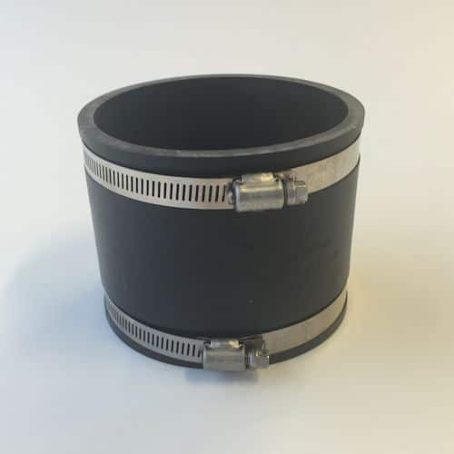 "4"" Pvc To 4"" Pvc Flexible Connector 122-122"