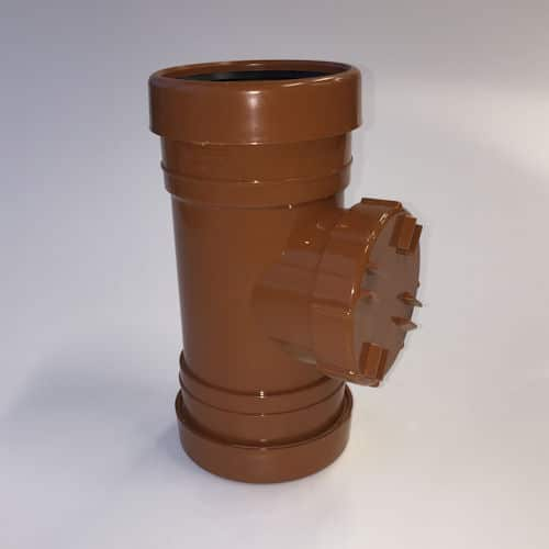 110mm UG Double Socket Access Pipe