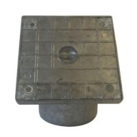 110mm Underground Drainage Alloy Square Top Rodding Point