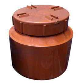 160mm Underground Drainage Screwed Access Plug