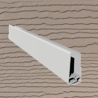 6mt Embossed Cladding 2 Part U-Channel Mocha Brown