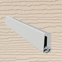 6mt Embossed Cladding 2 Part U-Channel Sand
