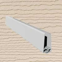 6mt Embossed Cladding 2 Part U-Channel Sand