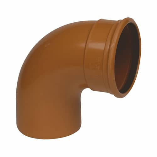 Underground Drainage 90d Single Socket Swept Bend