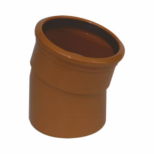 Underground Drainage 15d Single Socket Bend