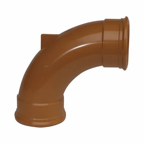 110mm Underground Drainage 90d Double Socket Rest Bend