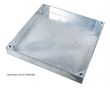 Clark-Drain CD794R 750x750 Recessed Block Pavior 10ton