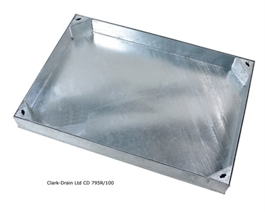 Clark-Drain CD795R 900x900 Recessed Block Pavior 10ton