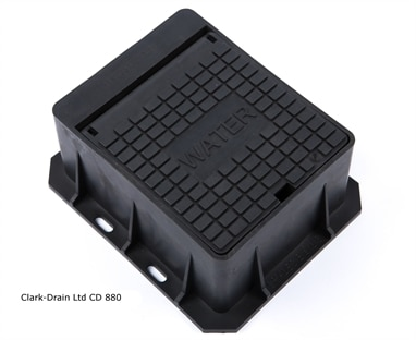 Clark-Drain CD880 Water Stop Tap Surface Box