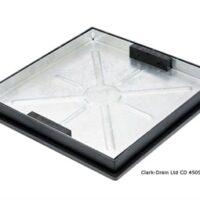 Clarks CD450SR/46SL 450x450 Recessed Block Pavior 10ton