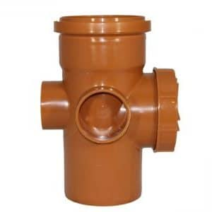 160mm Underground Drainage Single Socket Access Pipe