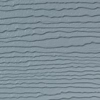 300mm x 6m Double Plank Embossed Cladding Pearl Grey