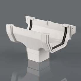 114mm Square Style Guttering