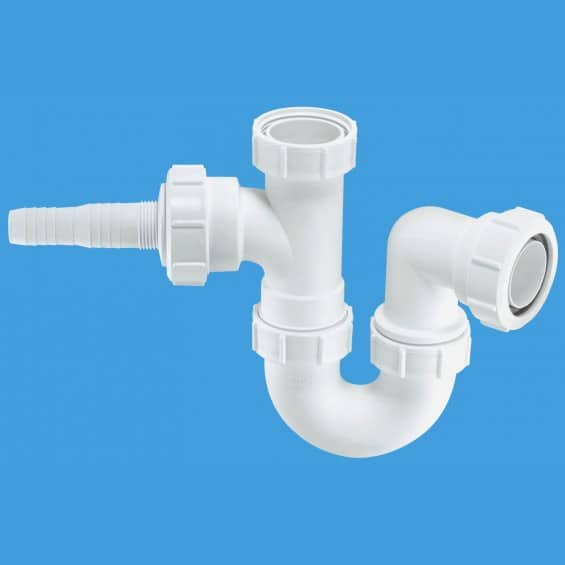 McAlpine WM2 Sink Trap With Horizontal Nozzles