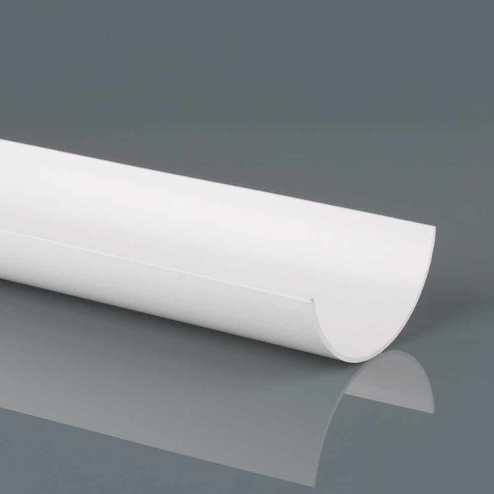 Roundstyle 112mm x 4m Gutter Artic White