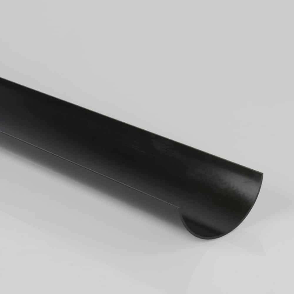 Roundstyle 112mm X 4m Gutter Black