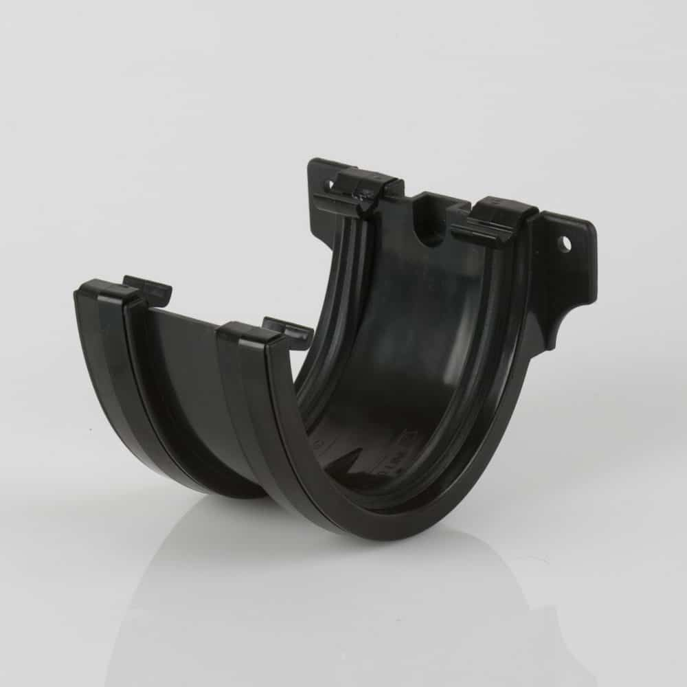 Deepstyle Gutter Union Bracket Black