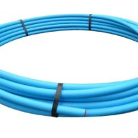 20mm x 25mt Blue MDPE Pipe Coil
