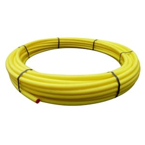 Yellow Gas Pipe Coils