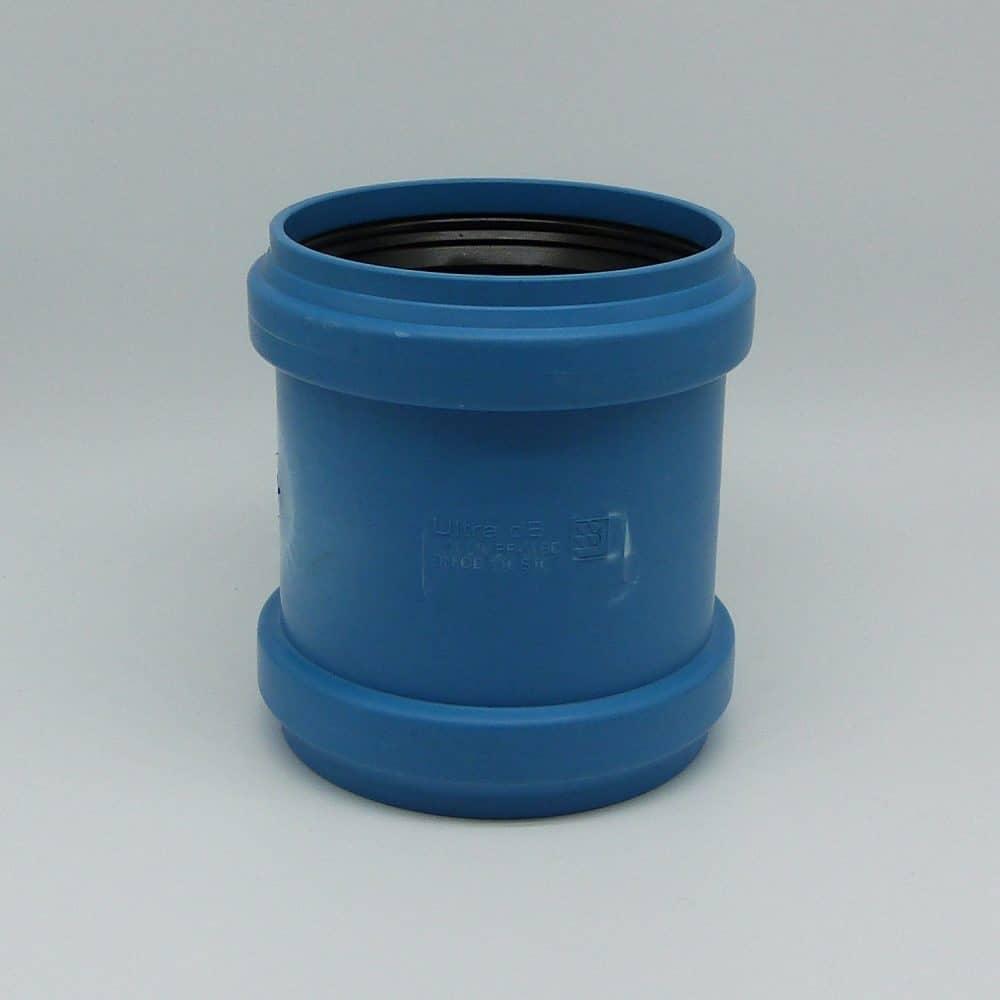 110mm Acoustic Pushfit D/Socket Coupler