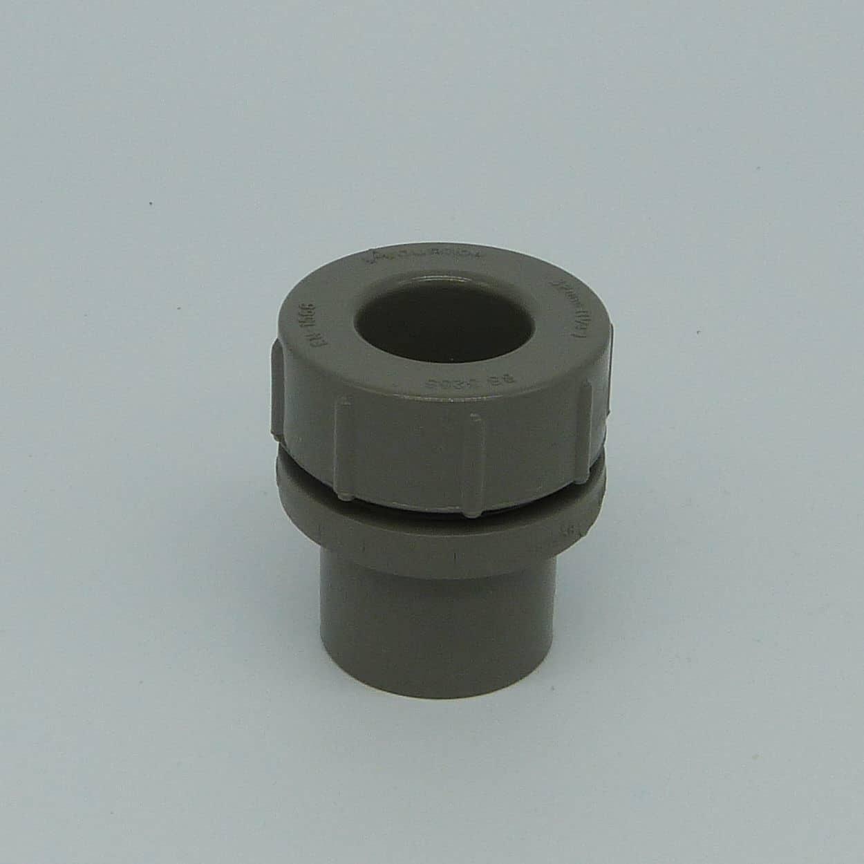 32mm solvent weld screw access cap grey