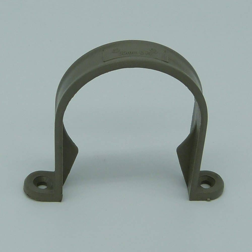 50mm Pipe Clip Grey