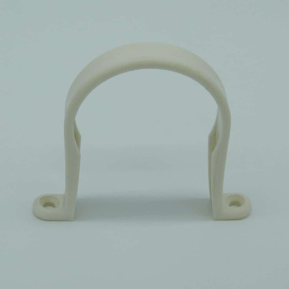 50mm Pipe Clip White