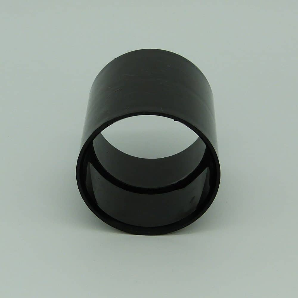 50mm Solvent Weld Coupler Black