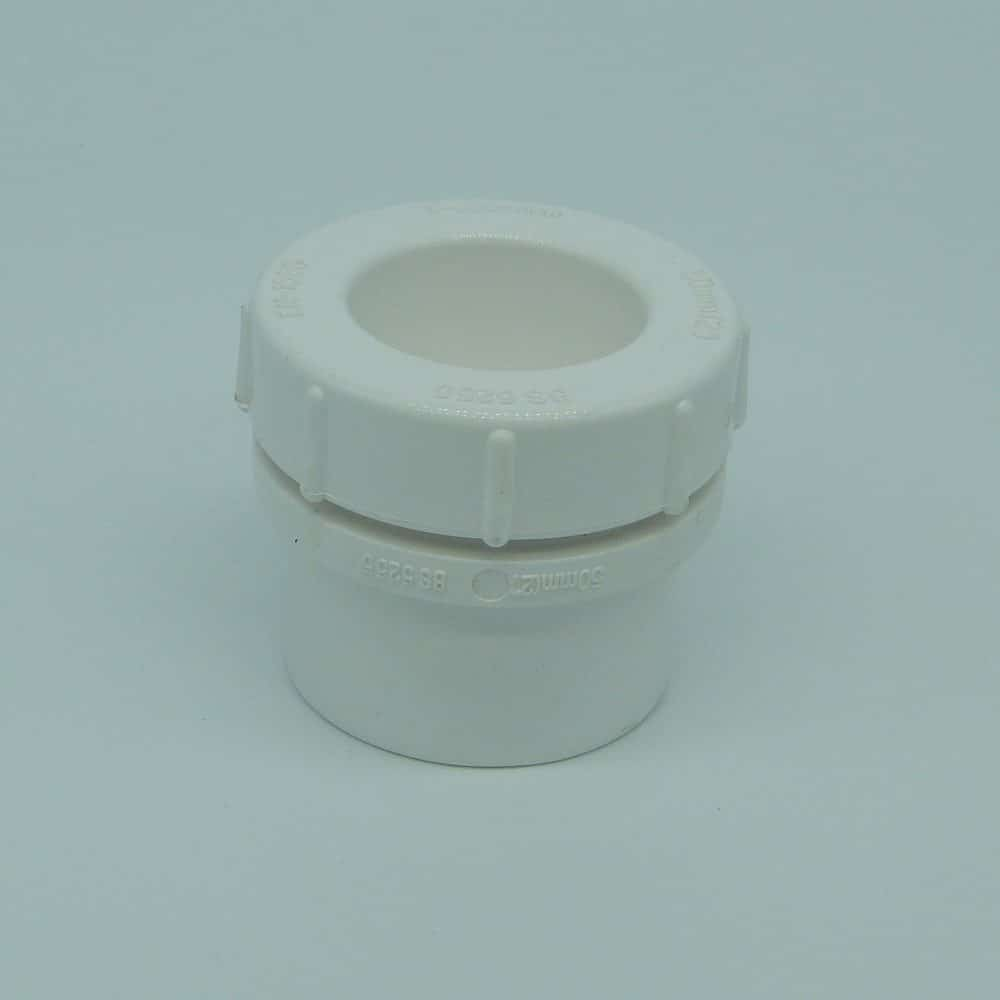 50mm Solvent Weld Access Plug White