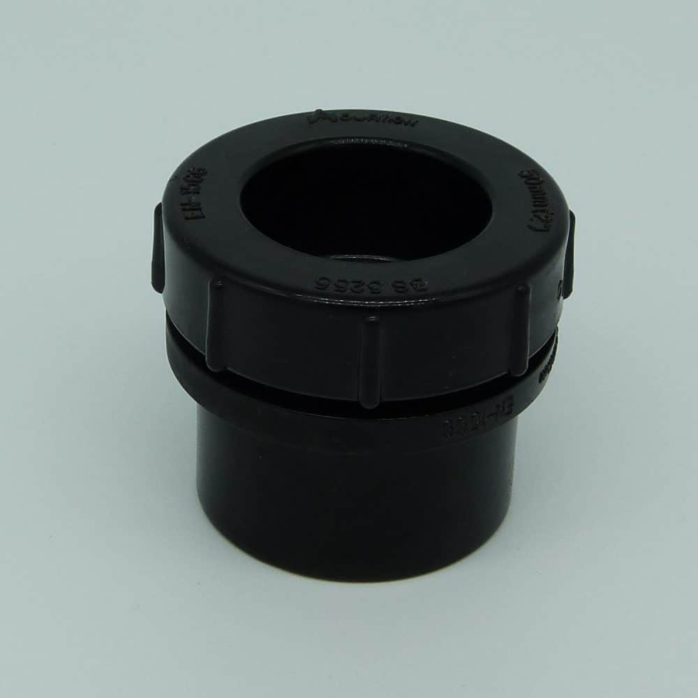 50mm Solvent Weld Access Plug Black
