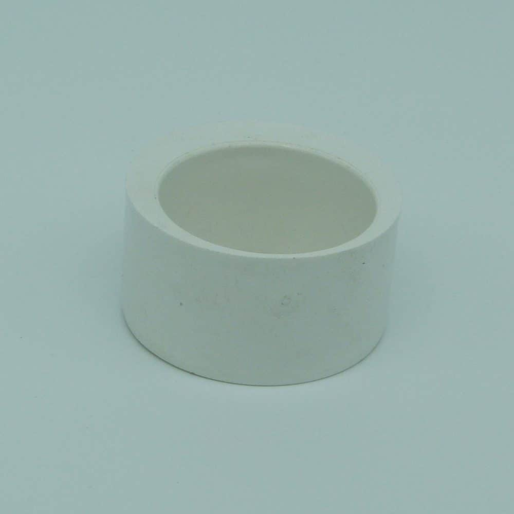 50mm - 40mm Solvent Weld Reducer White