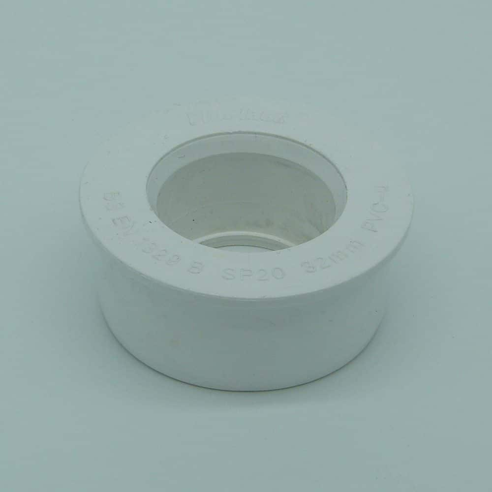 Solvent 63mm - 32mm Boss Reducer White
