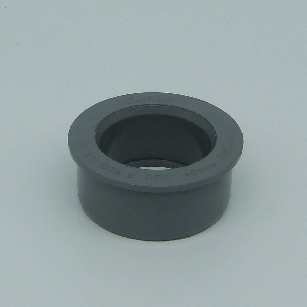 Solvent 63mm - 40mm Boss Reducer Grey