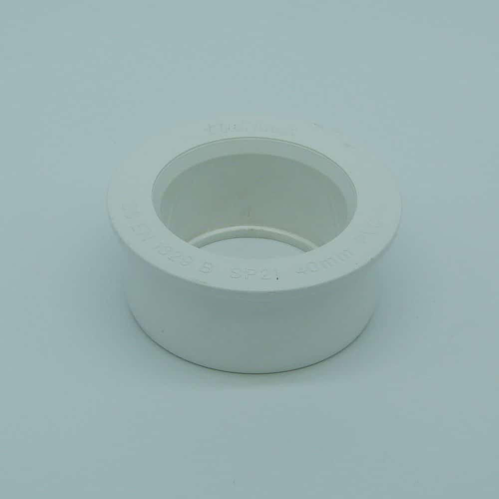 Solvent 63mm - 40mm Boss Reducer White