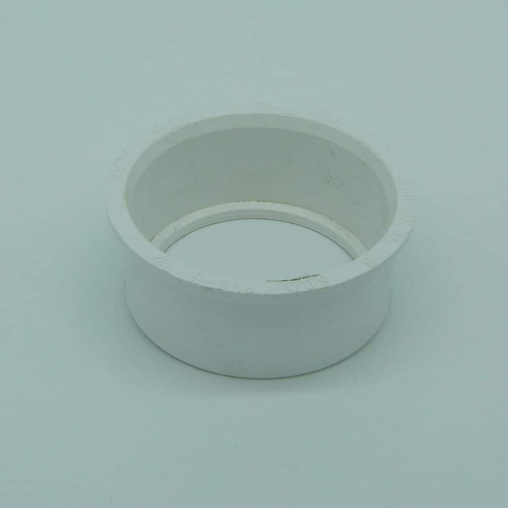 Solvent 63mm -50mm Boss Reducer White