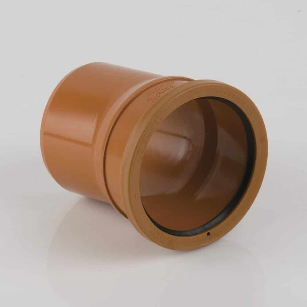 110mm Underground Drainage 11.25d Single Socket Bend