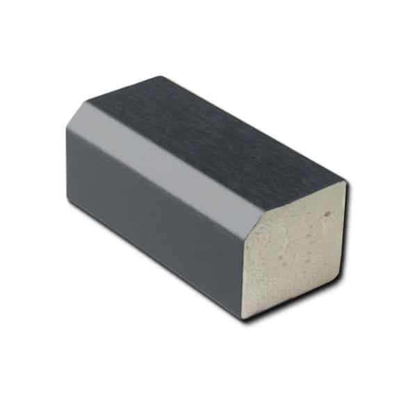 22mm x 19mm Rectangle W/G Foil Anthracite Grey RAL7016 5m
