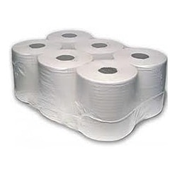MINI CLEANING ROLL 150m 2 Ply White 6 pack