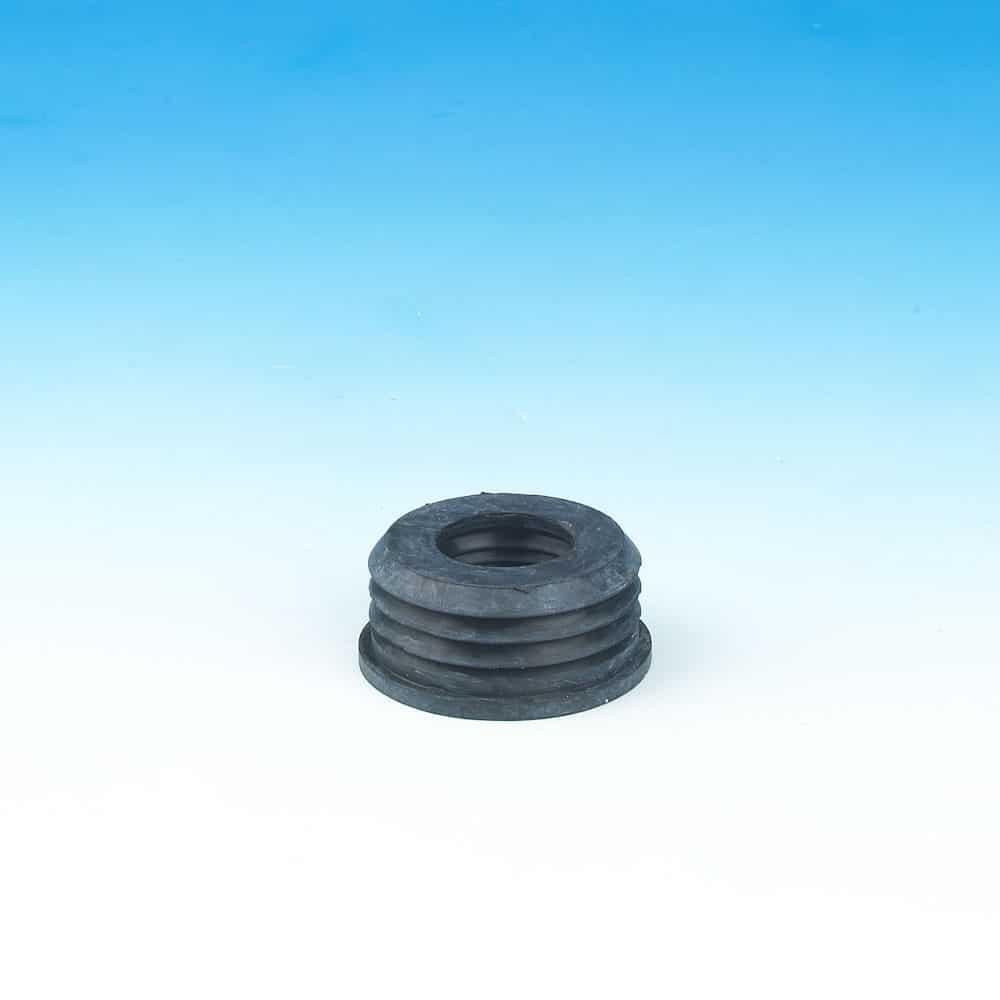 PushFit Soil Rubber Boss Adaptor 63-32 Black