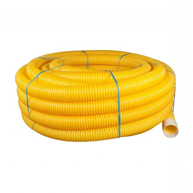 Yellow Perforated Twinwall Ducting