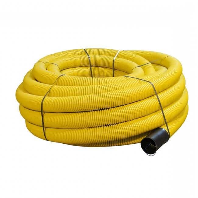Yellow Gas Twinwall Ducting