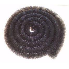 Hedgehog Gutter Brush 100mm x 4m Black