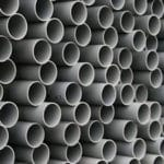 Bt Ducting Grey Solid Smooth