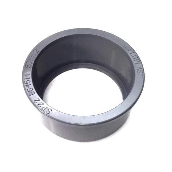 Boss Adaptor Solvent 63mm – 50mm Black