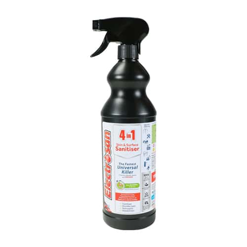 Electrosan 4 in 1 Skin & Surface Sanitiser